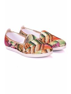 Дамски обувки Кими зелено