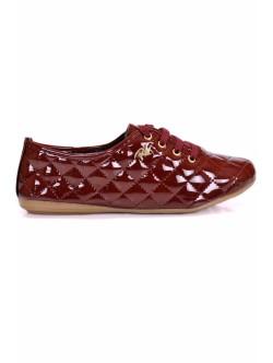 Обувки Роана бордо