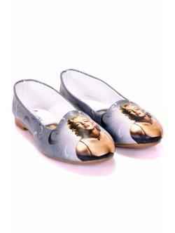 Дамски обувки Мерилин сиво