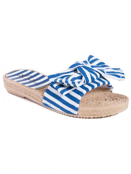Дамски чехли на синьо рае