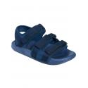 Летни мъжки сандали в син цвят