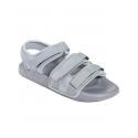 Летни мъжки сандали в сив цвят