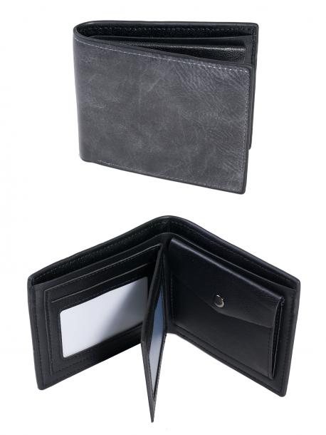 Мъжко портмоне в сив цвят Q -1941 GREY