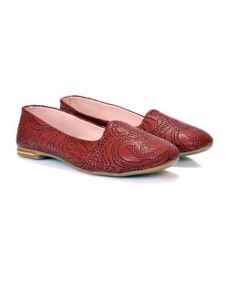 Обувки Заки бордо