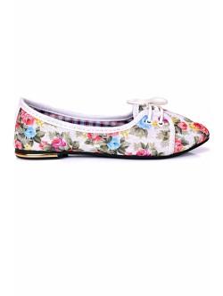 Обувки Олга бяло