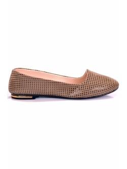 Обувки Нури бежово