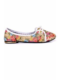 Обувки Олга бежово