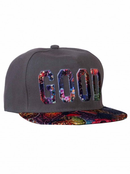 Рапърска шапка GOOD - сива