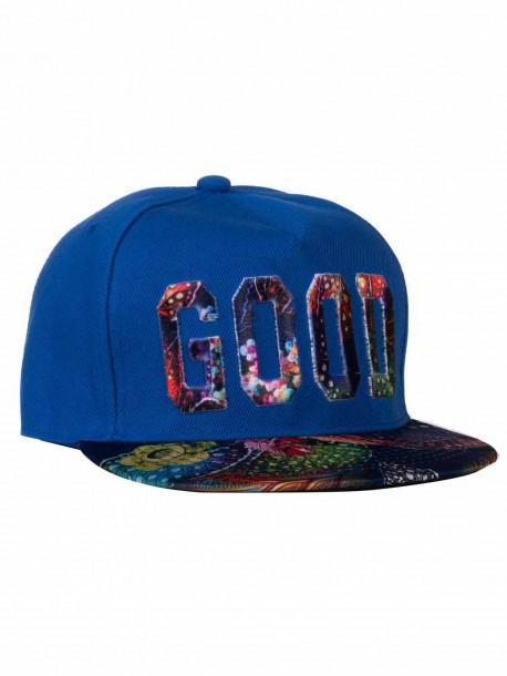 Рапърска шапка GOOD - синя
