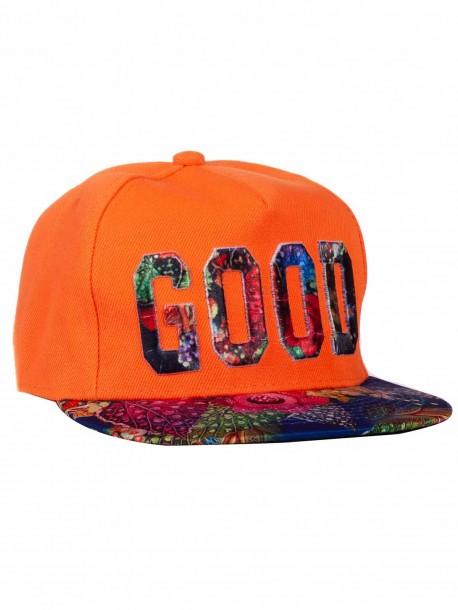 Рапърска шапка GOOD - оранжева
