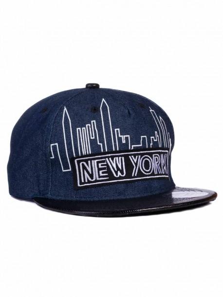 Рапърска шапка New York - синя