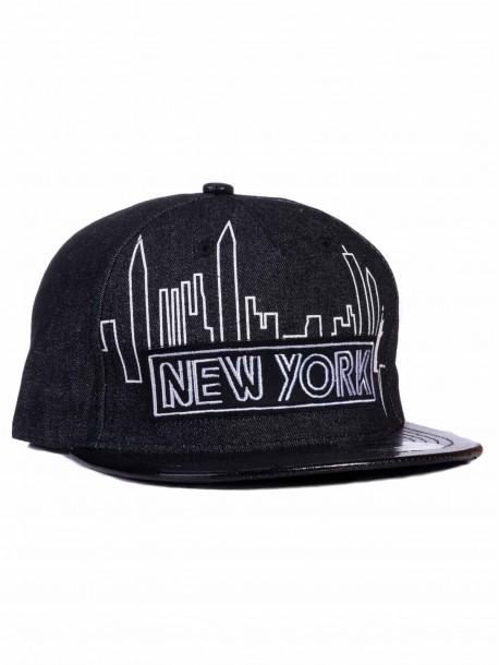 Рапърска шапка New York - черна