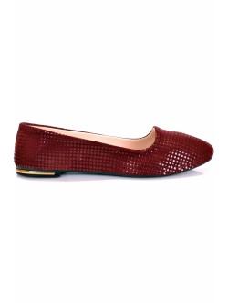 Обувки Нури бордо