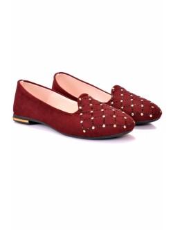 Обувки Вили бордо