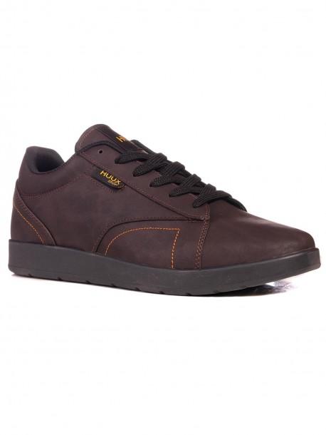 Мъжки спортни обувки в кафяв цвят