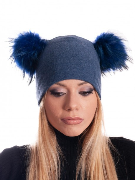 Дамска трикотажна шапка
