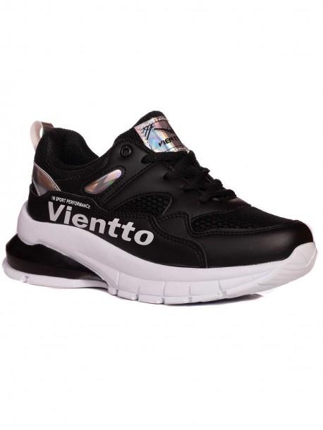 Черни дамски маратонки Vientto