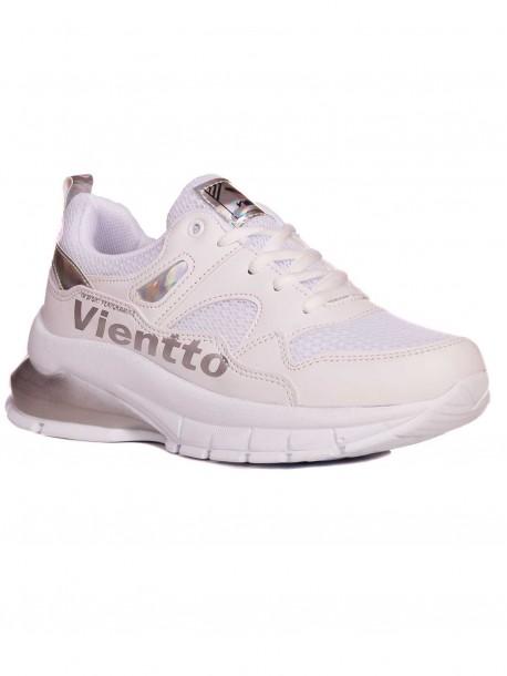 Бели дамски маратонки Vientto