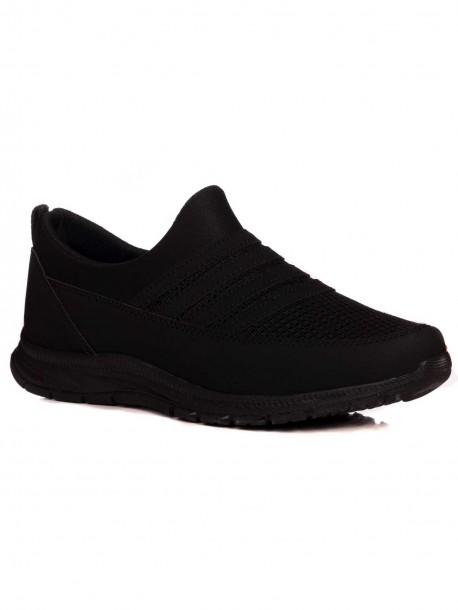 Леки мъжки обувки - черни