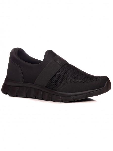 Удобни мъжки маратонки в черно