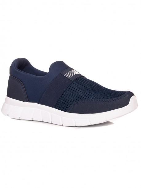 Удобни мъжки маратонки в синьо