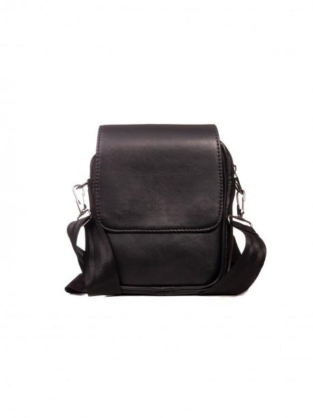 Мъжка чанта от кожа за през рамо - малка