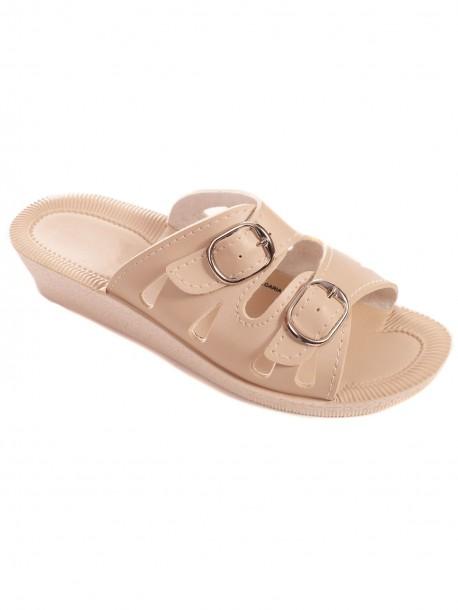 Дамски чехли с нисък ток