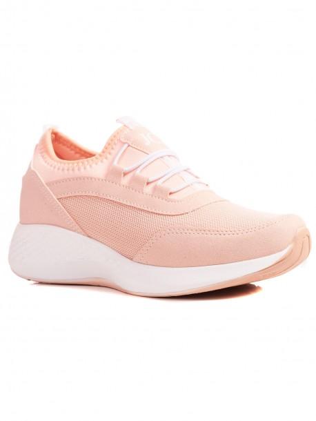 Дамски маратонки в розов цвят JC