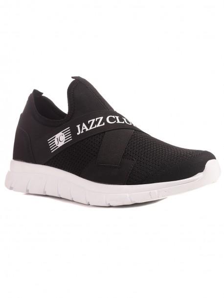 Мъжки маратонки в черен цвят Jazz club
