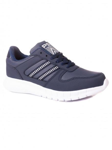 Евтини дамски маратонки в син цвят
