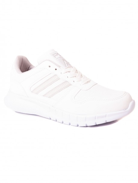 Евтини дамски маратонки в бял цвят