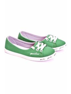 Обувки Фани зелено
