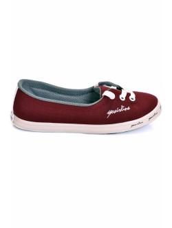 Обувки Фани бордо