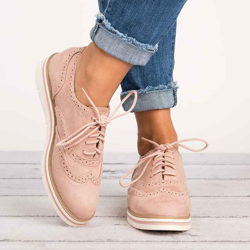 Дамски обувки Оксфорд