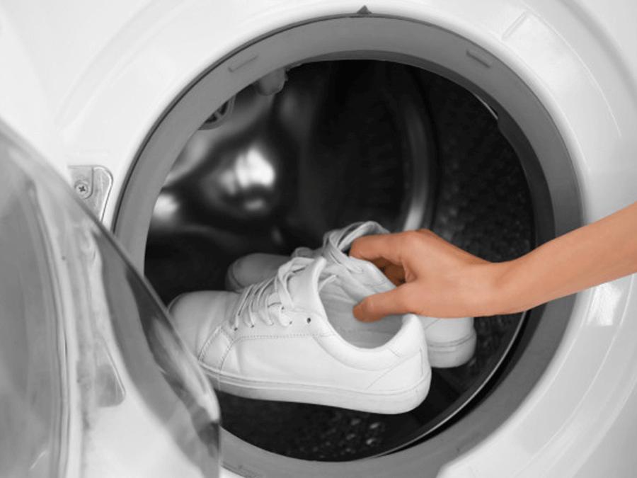 как да перам обувки в пералня